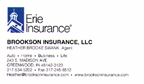 Heather Swank Selling Business, Home and Auto Insurance from Erie