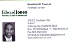 Kendrick Tunstall Financial Advisor from Edward Jones